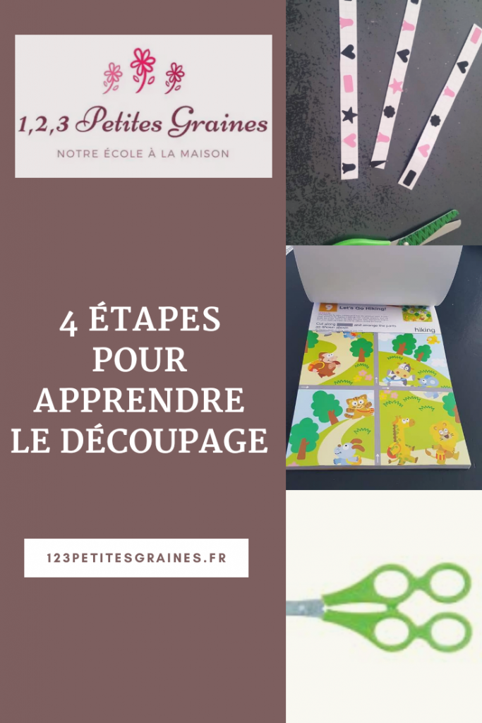 4 étapes pour apprendre le découpage