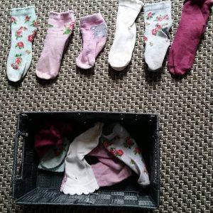 mise en paires chaussettes montessori