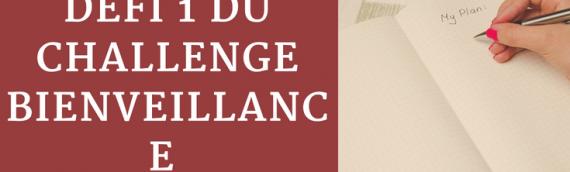 Defi #1 du Challenge bienveillance