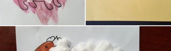 [Bébé] Activité collage adapté aux touts-petits