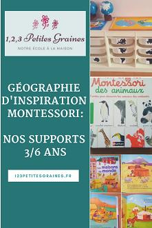 géographie d'inspiration montessori nos supports
