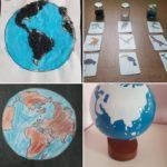 Terre/eau: nos premières activités de géographie.