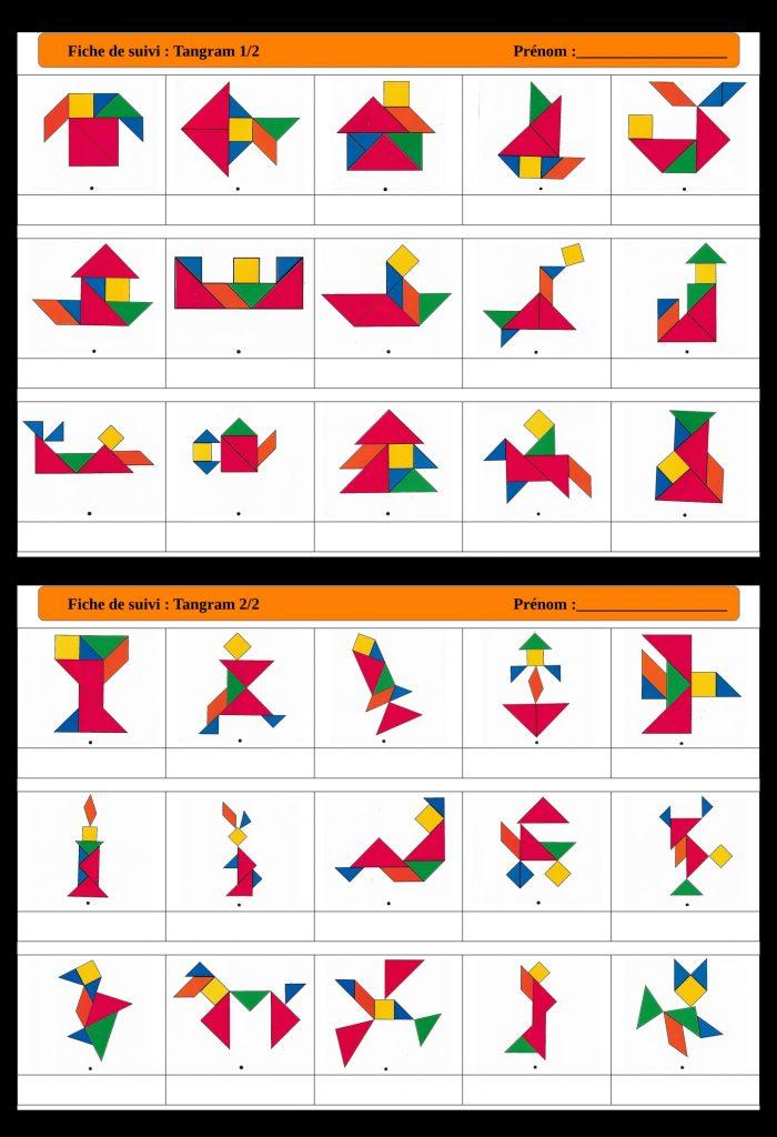 fiche de suivi tangram