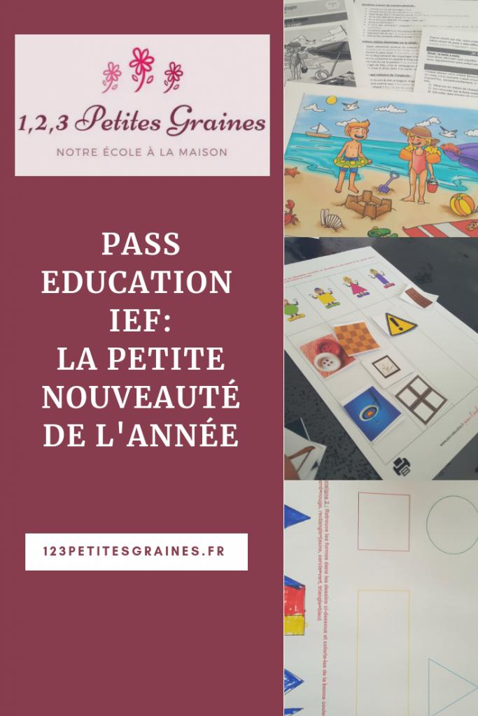 pass éducation IEF