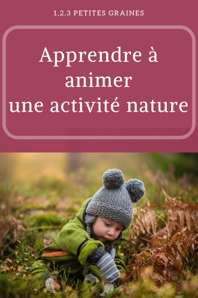 Apprendre à animer une activité nature pour les enfants