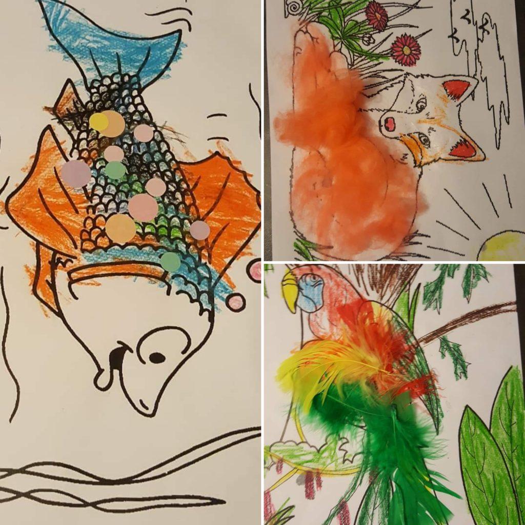 Arts-visuels-maternelle-animaux-plumage-pelage