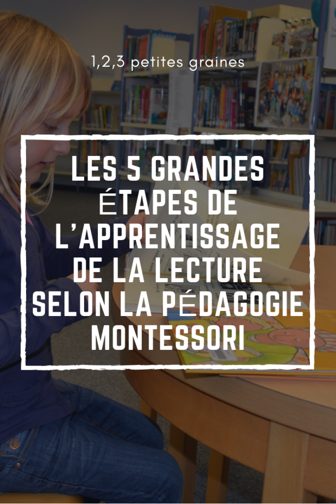 apprendre lire avec montessori les 4 grandes tapes 1. Black Bedroom Furniture Sets. Home Design Ideas