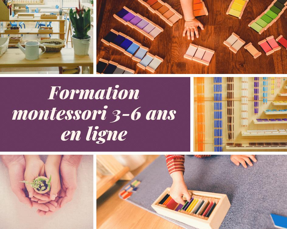 Formation montessori 3-6ans