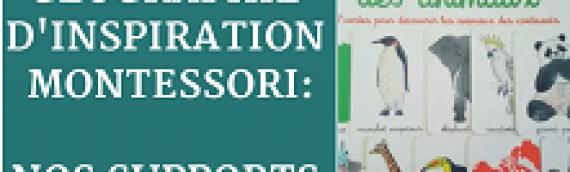 Géographie d'inspiration montessori [ Nos supports ]